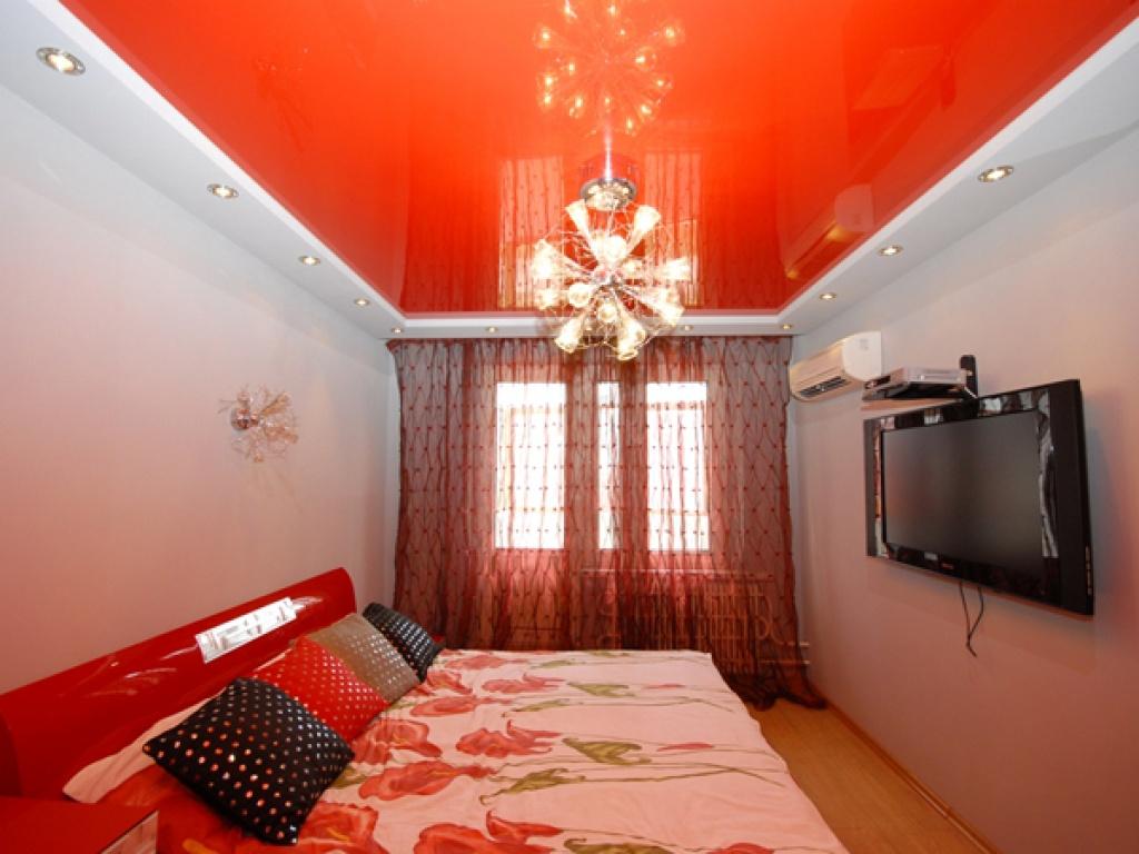 Удивительный цвет в оформлении потолка