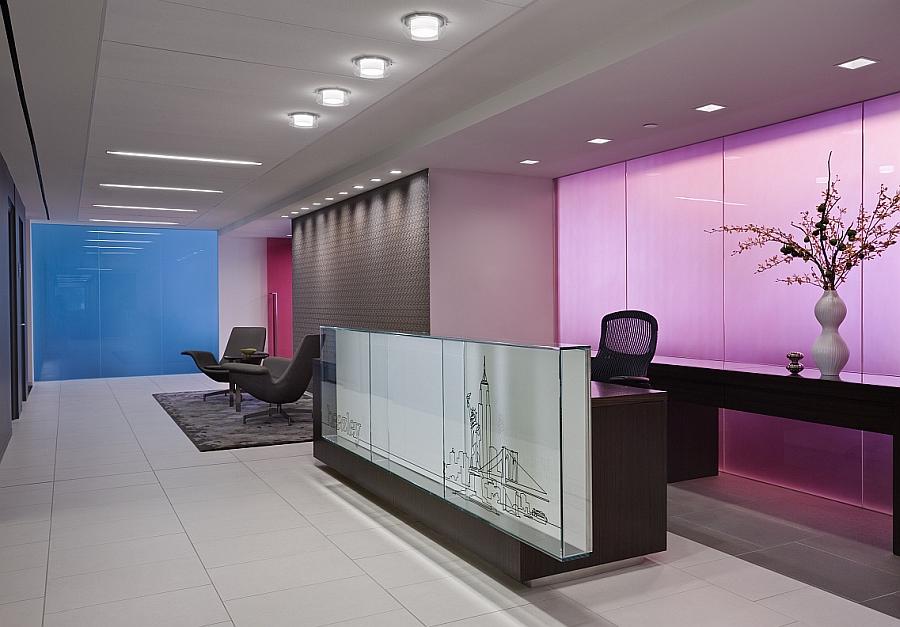 Красивая стеклянная перегородка Enliven для офисных помещений