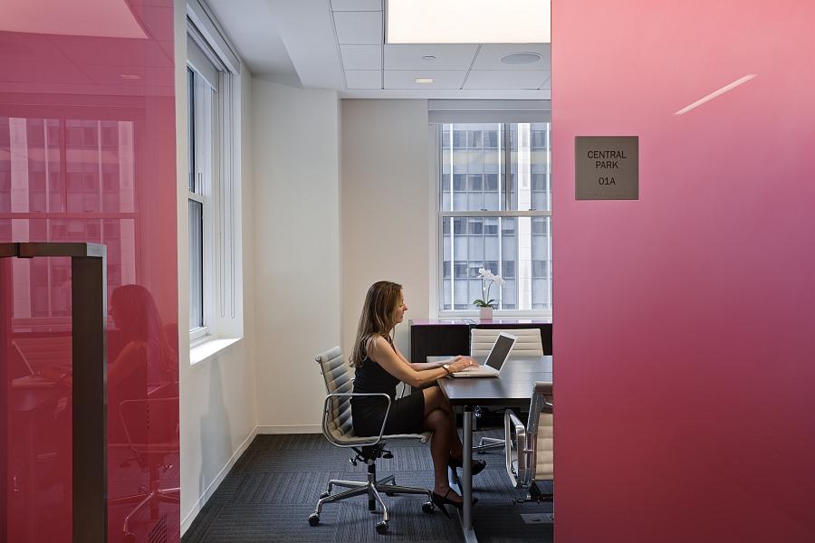 Прекрасная стеклянная перегородка Enliven для офисных помещений