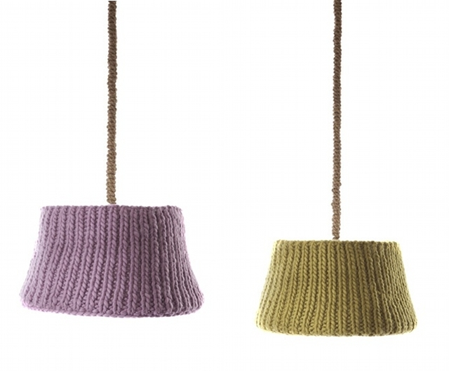 Современное оформление швабры Urban Knitting