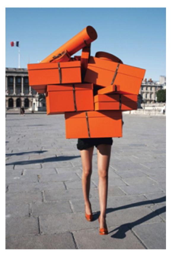 Подарочные коробки оранжевого цвета