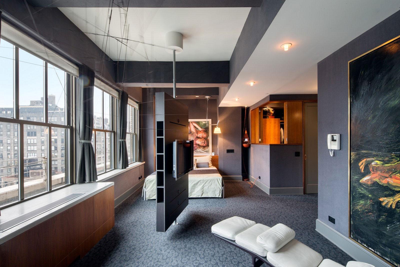Стильные шторы в дизайне интерьера помещения