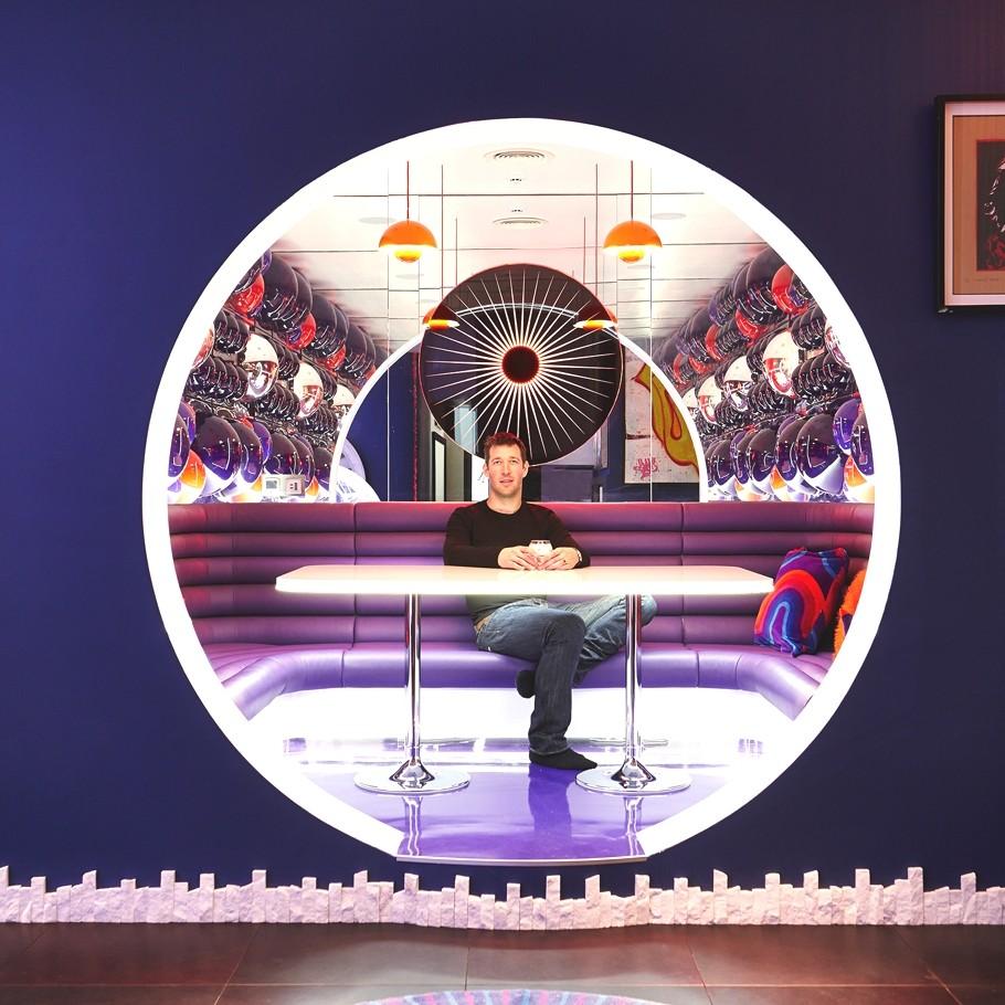 Шикарный световой дизайн интерьера