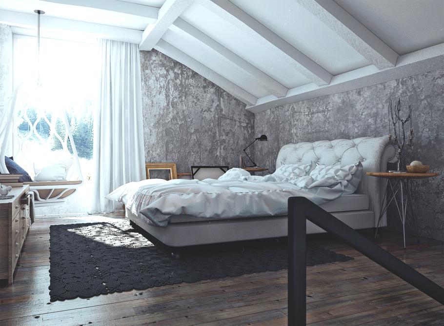 Оригинальные шторы в дизайне интерьера помещения