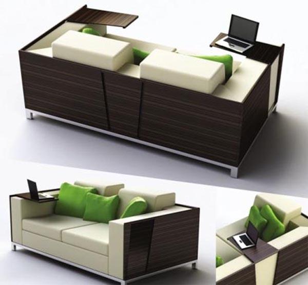 Многофункциональный диван Trio от дизайнера Julia Hamid