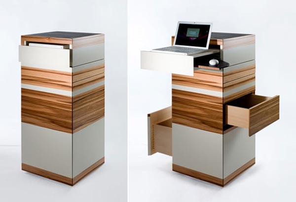 Стол башня для ноутбука от Сары Майер
