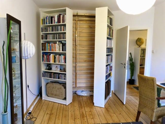 Шикарная складная кровать в интерьере помещения