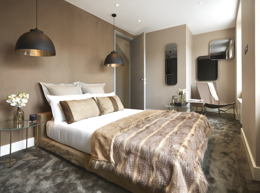 Лофт-стиль в спальни от G&T London