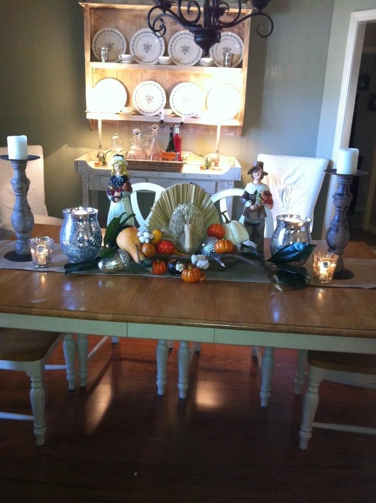 Винтажный праздничный стол