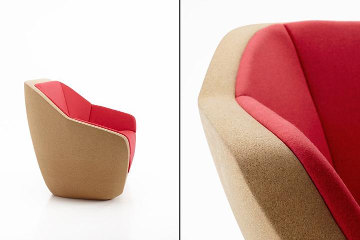 Оригинальный диванчик Corques от архитектурной мастерской Lucie Koldova