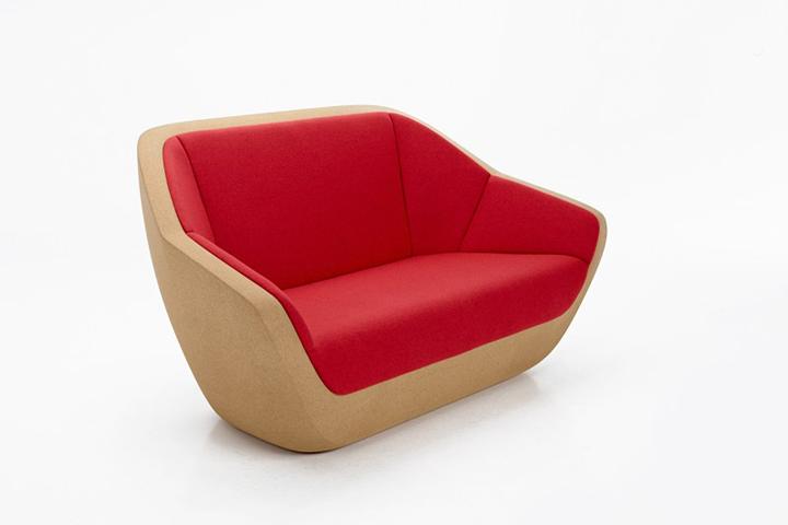 Очаровательный диванчик Corques от архитектурной мастерской Lucie Koldova