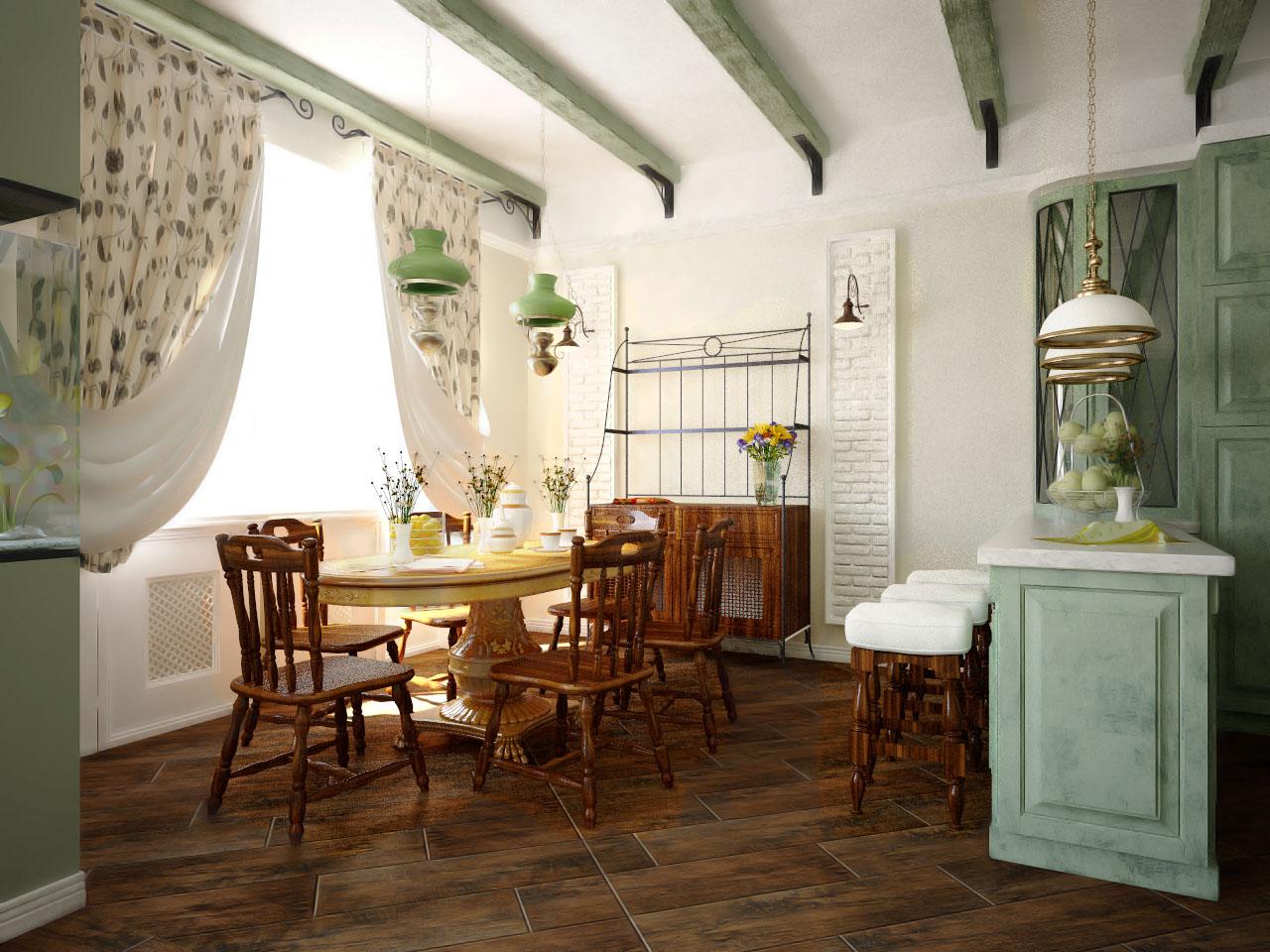 Фото кантри стиль в гостиной