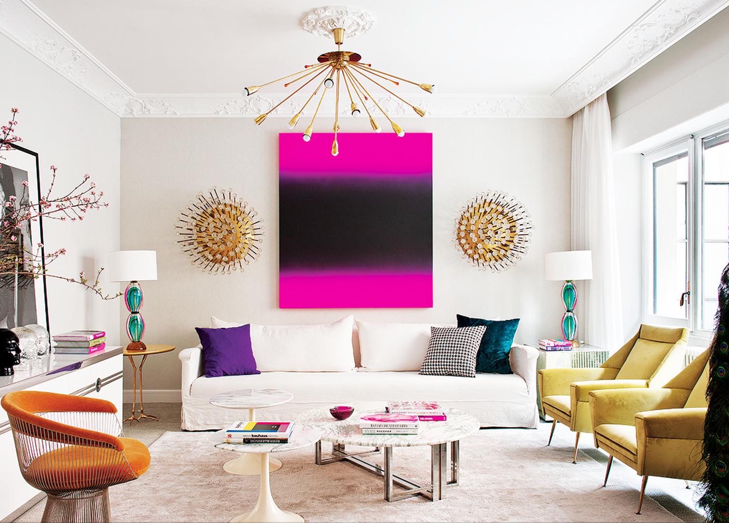 Дизайн интерьера помещения в стиле эклектика