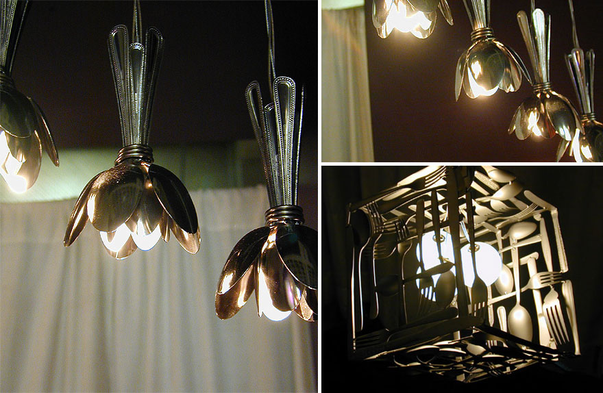 Оригинальные светильники своими руками мастер класс