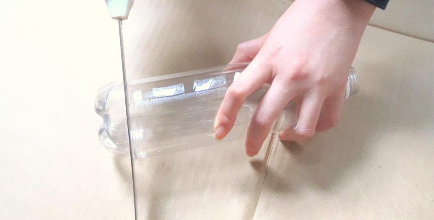 Люстра из пластиковых бутылок своими руками