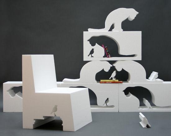 Поразительный предмет мебели от дизайнера