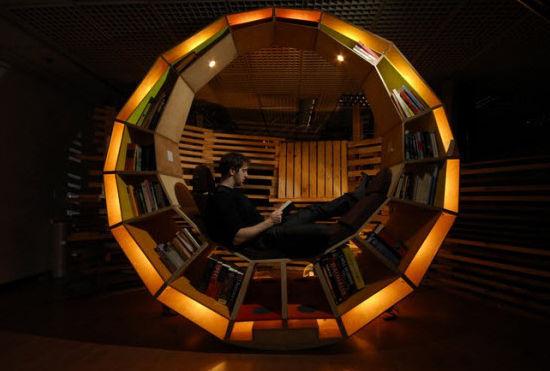 Дивный предмет мебели от дизайнера