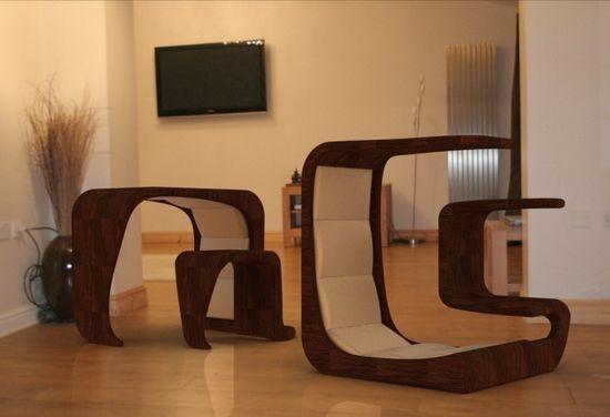 Сказочный предмет мебели от дизайнера
