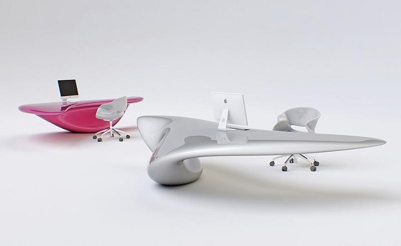 Современный стол и стулья