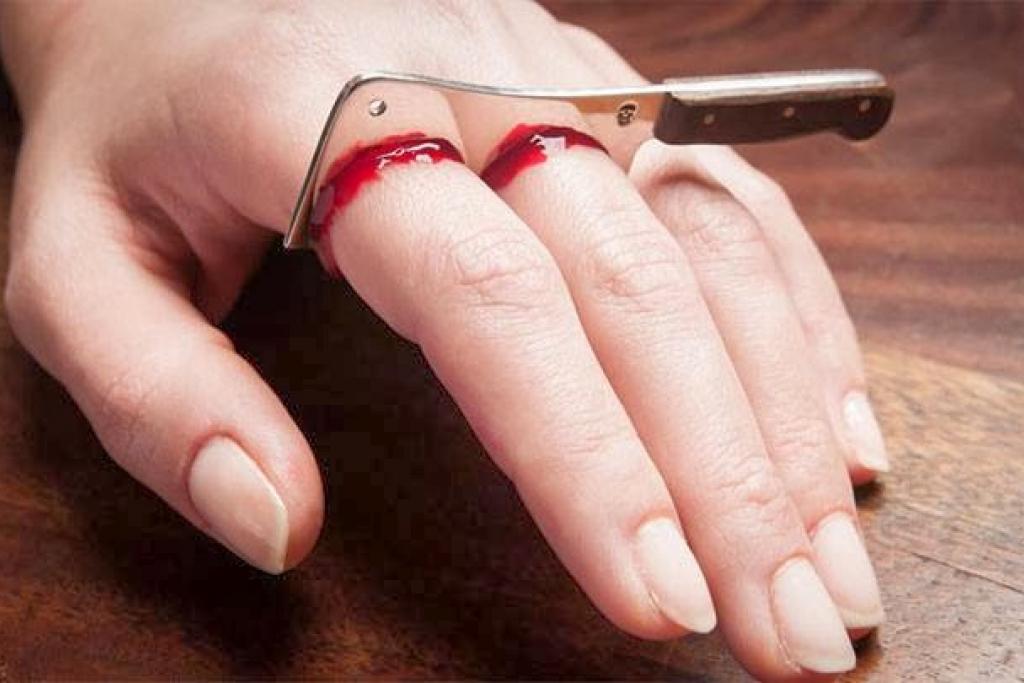 Кольцо Отрезать пальцы»