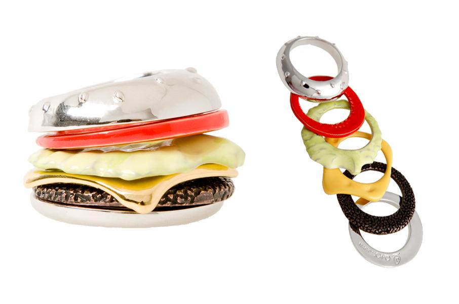 Кольцо Burger