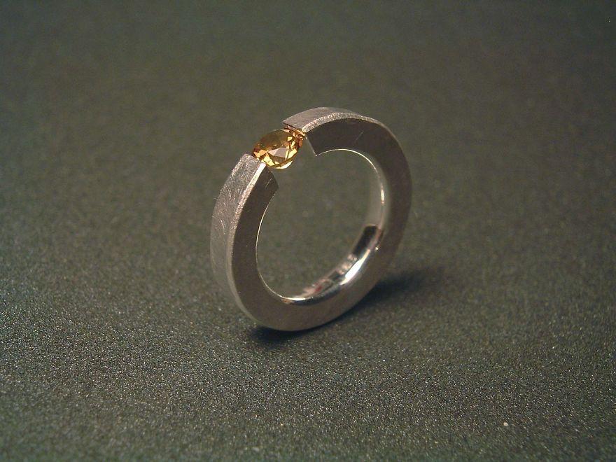 Кольцо Плавающий мандарин
