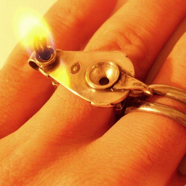 Кольцо Фитиль