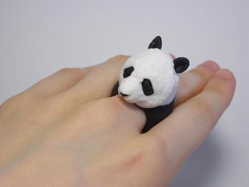 Кольцо из серии Реалистичные животные