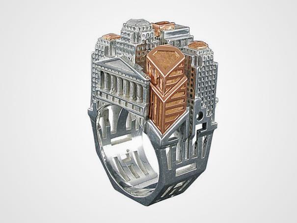 Кольцо из серии Архитектурные достопримечательности
