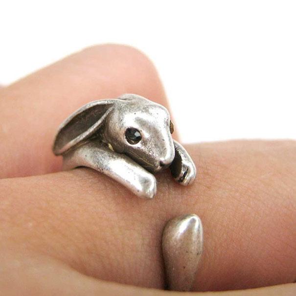 Кольцо Кролик
