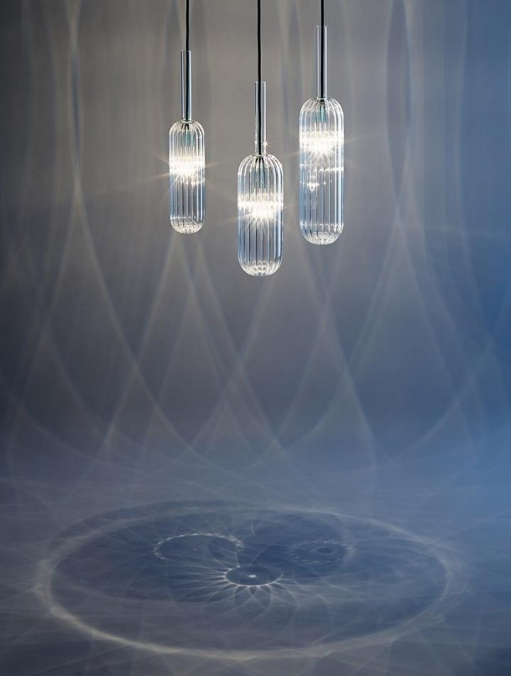 Восхитительные стеклянные светильники из коллекции Reed