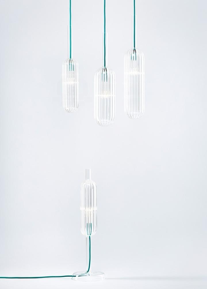 Шикарные стеклянные светильники из коллекции Reed