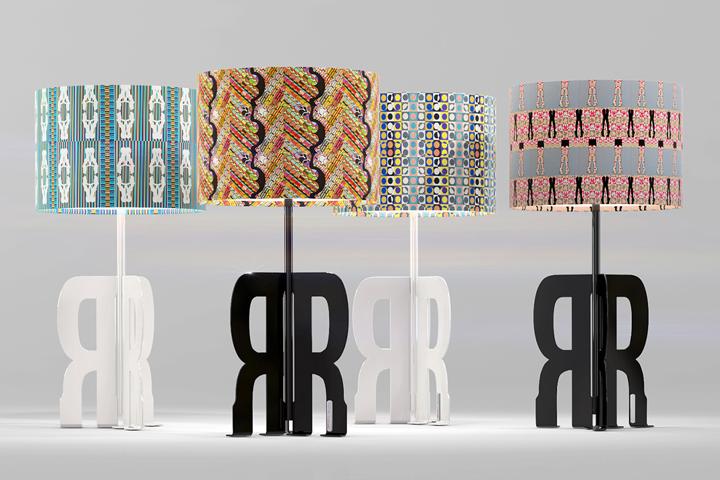 Настольные лампы Replay Art с принтов