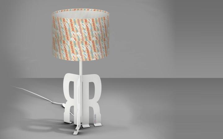 Красивая настольная лампа Replay Art