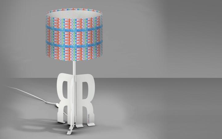 Прекрасная настольная лампа Replay Art