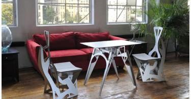 Чудесная складная мебель от Folditure