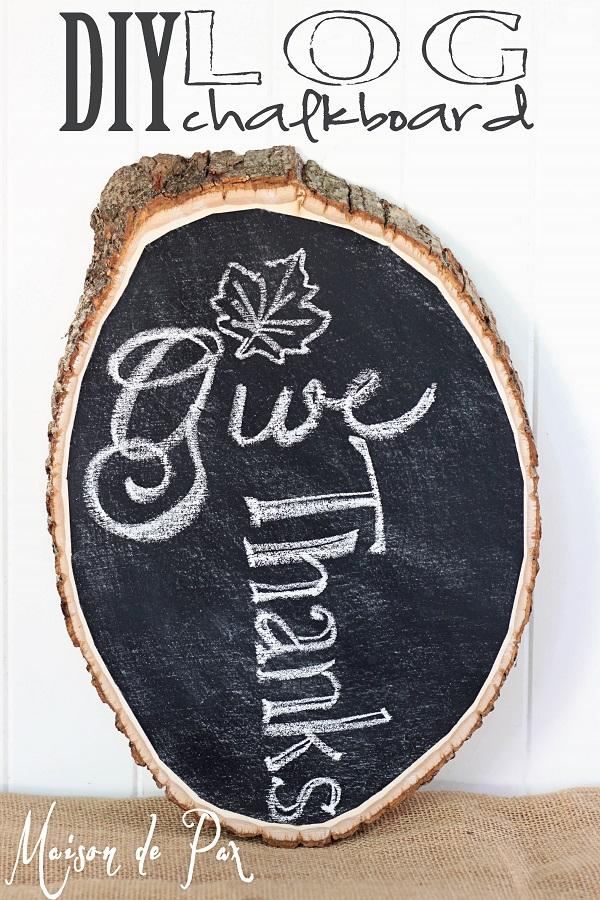 Надпись мелом на стволе дерева