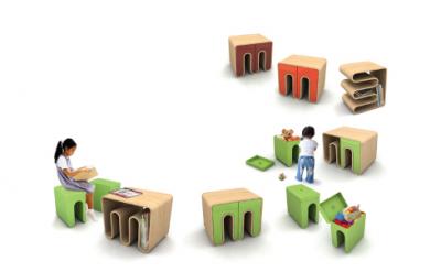 Muebles modulares para niños - foto