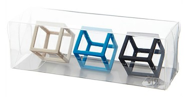 Кубическая резинка от дизайнерской студии Nendo