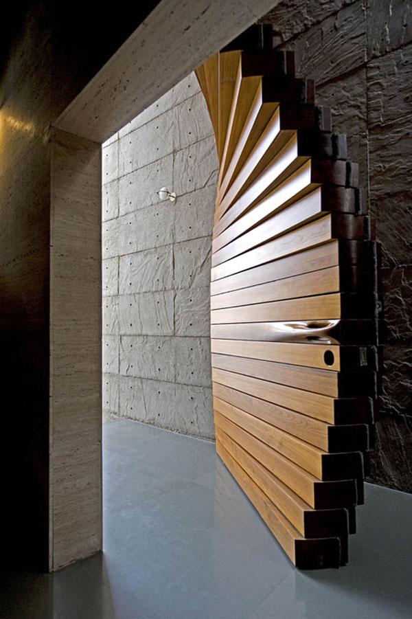 Необычные двери межкомнатные своими руками 27