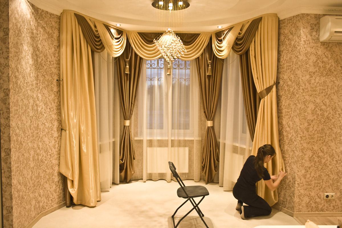 Дизайн штор и гардин