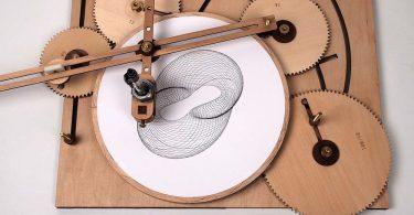 Циклоид Джо Фридмана: деревянная машина для рисования сложных геометрических узоров