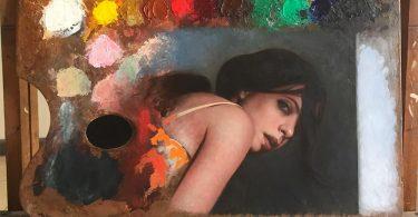 Дина Бродски: палитра художника как инструмент исследования процесса творчества