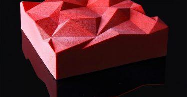 Динара Касько: кондитерские шедевры геометрических форм