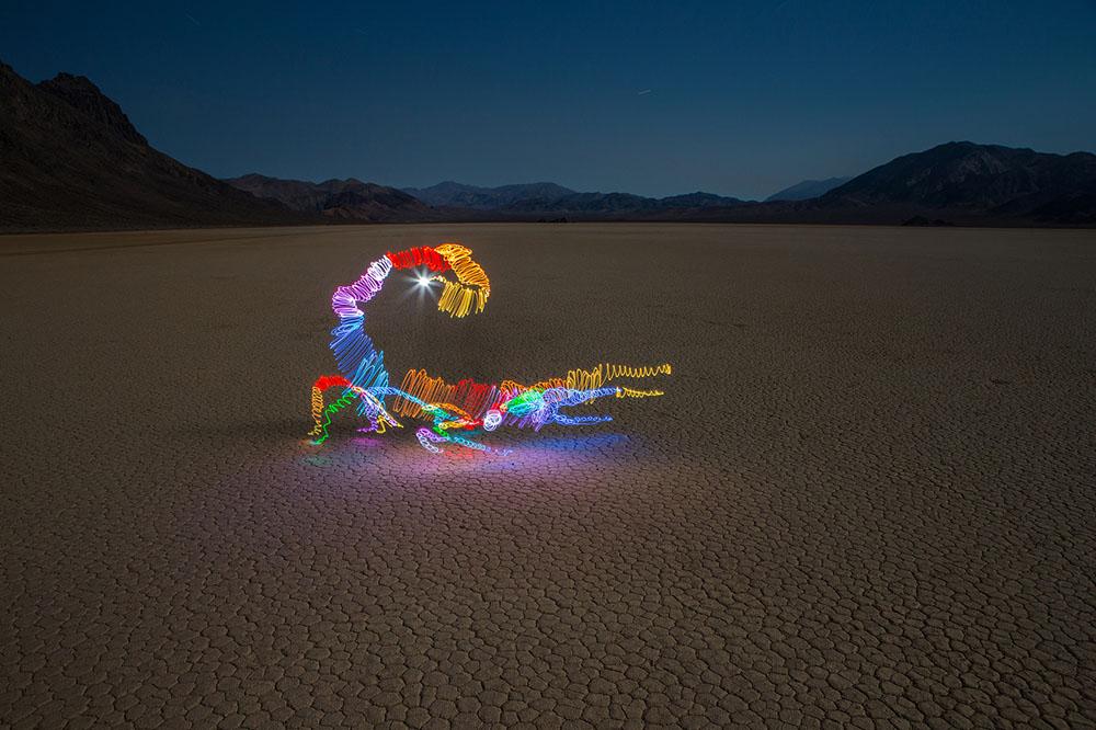 Световые изображения в фотографиях от Даррена Пирсона