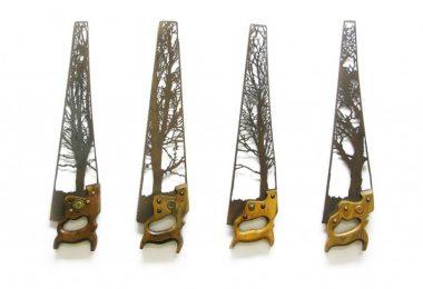 Новая жизнь вторсырья в искусстве: художественная резка по металлу от Дэна Ролингса