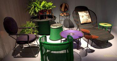 Самая современная дачная уличная мебель 2016 года