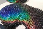 Дан Лам: психоделический эффект текучих скульптур из пенополиуретана