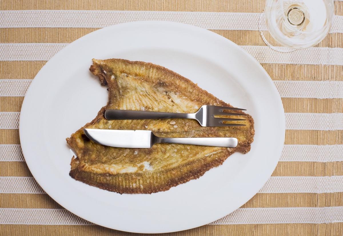 Талантливый датский дизайнер Кей Бойсен - нож для рыбы