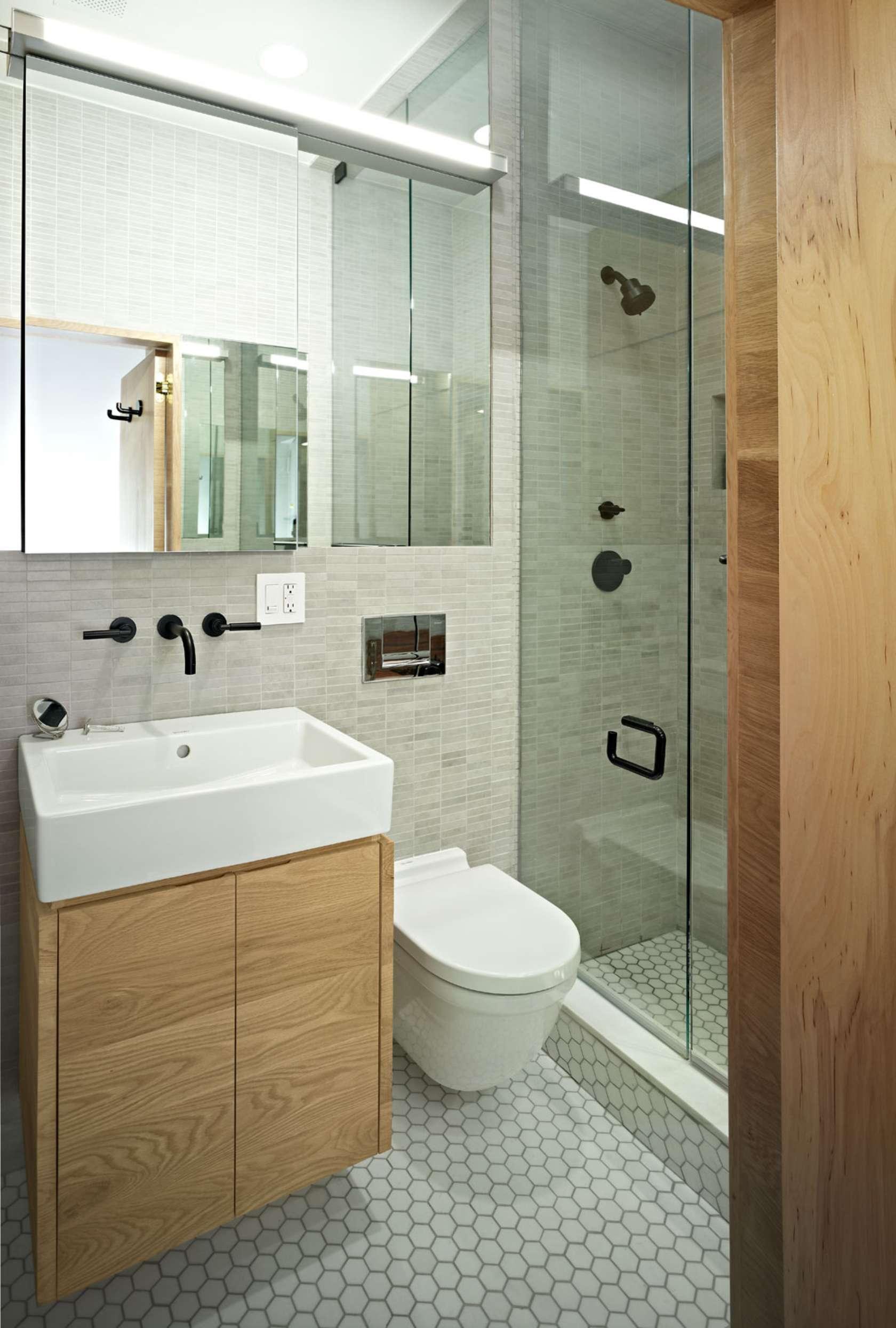 Очаровательный дизайн интерьера ванной